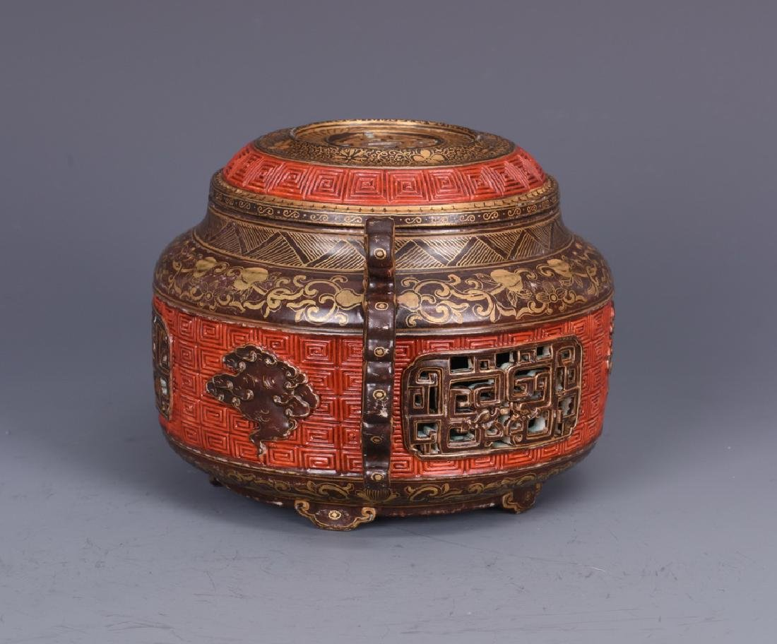 Porcelain Censer with Mark - 7