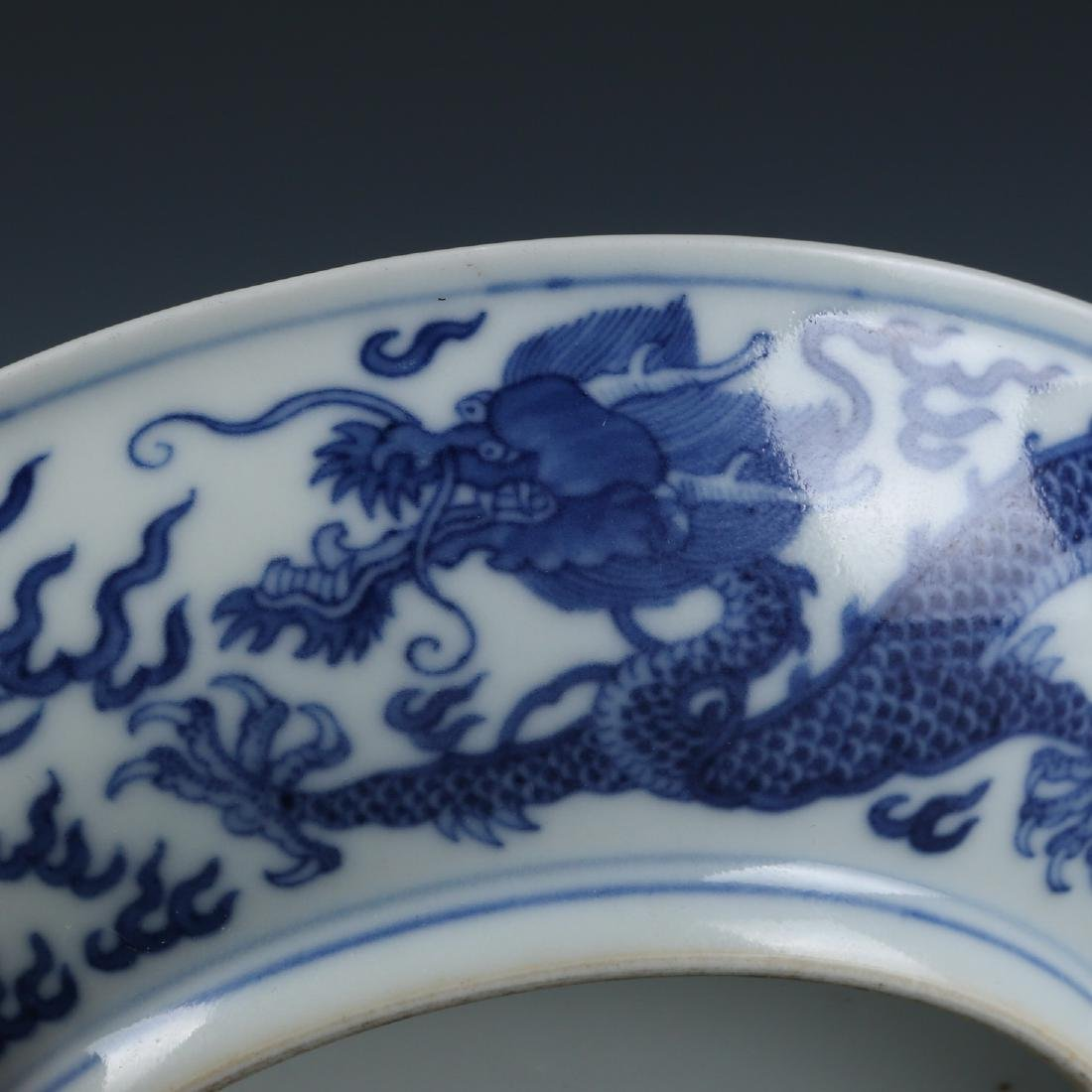 A Pair Of Blue And White Porcelain Plates - 6