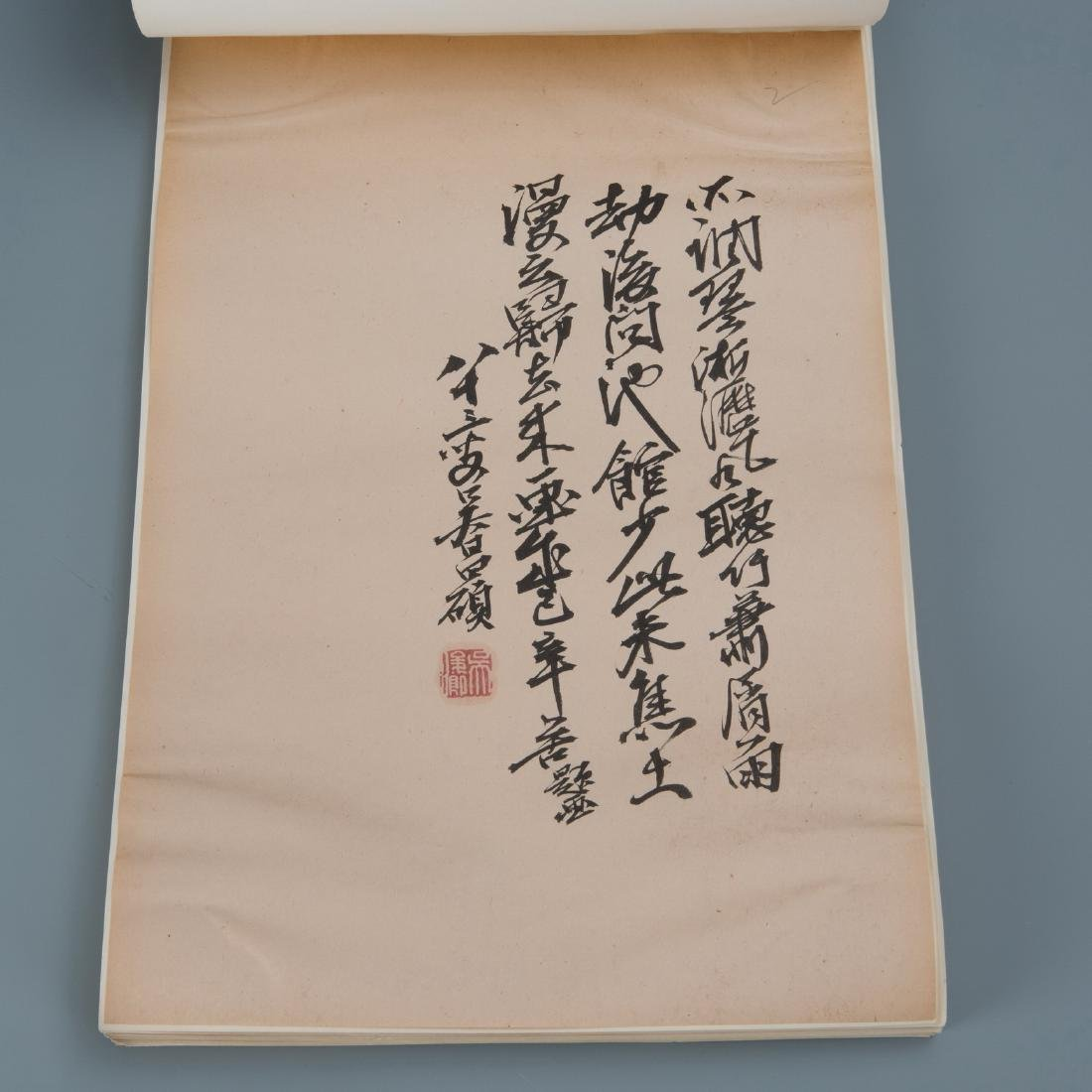 Chinese Painting On Paper Signed - 5