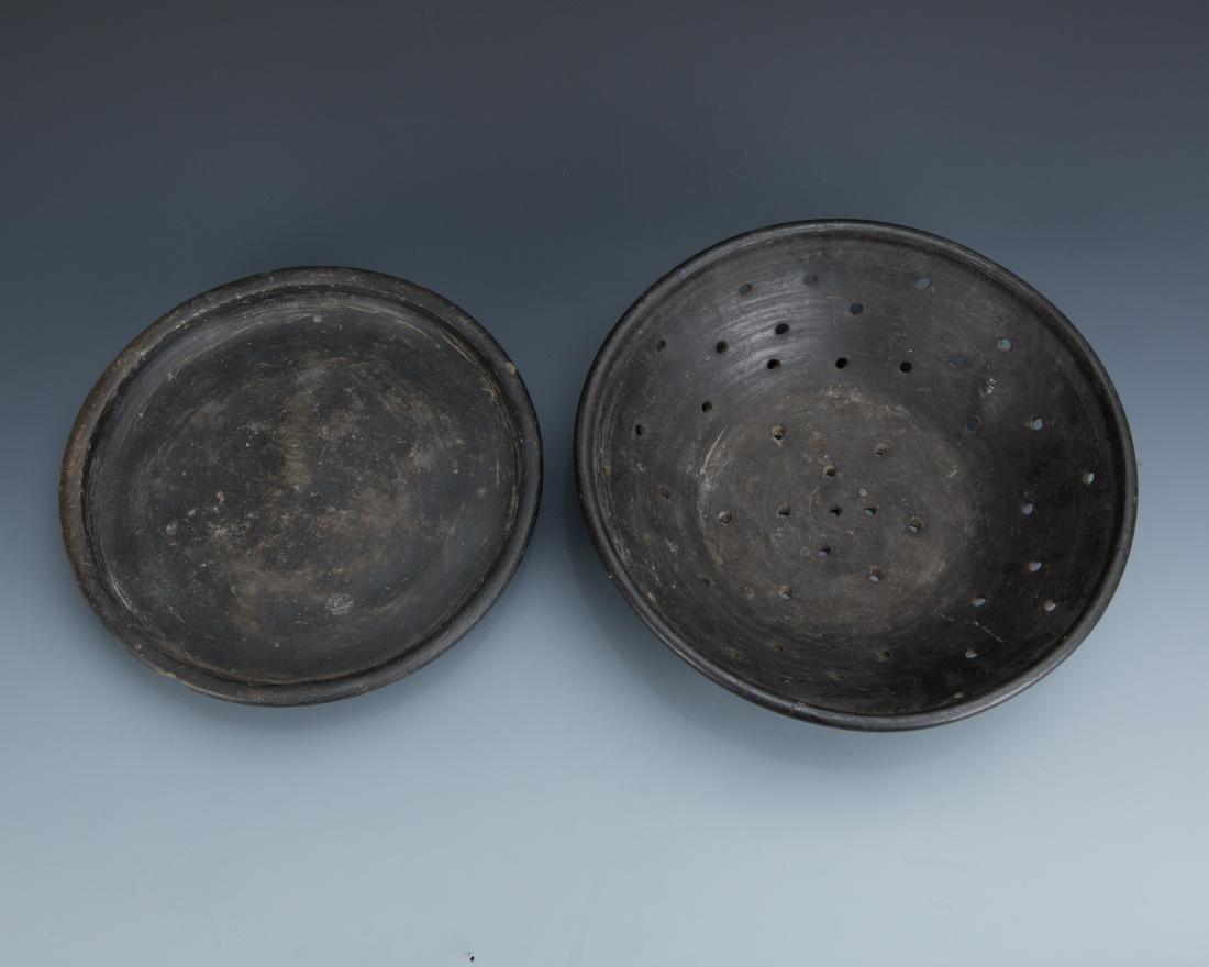 Estate Sale: Metal Colander and Bronze Pack Animal - 7