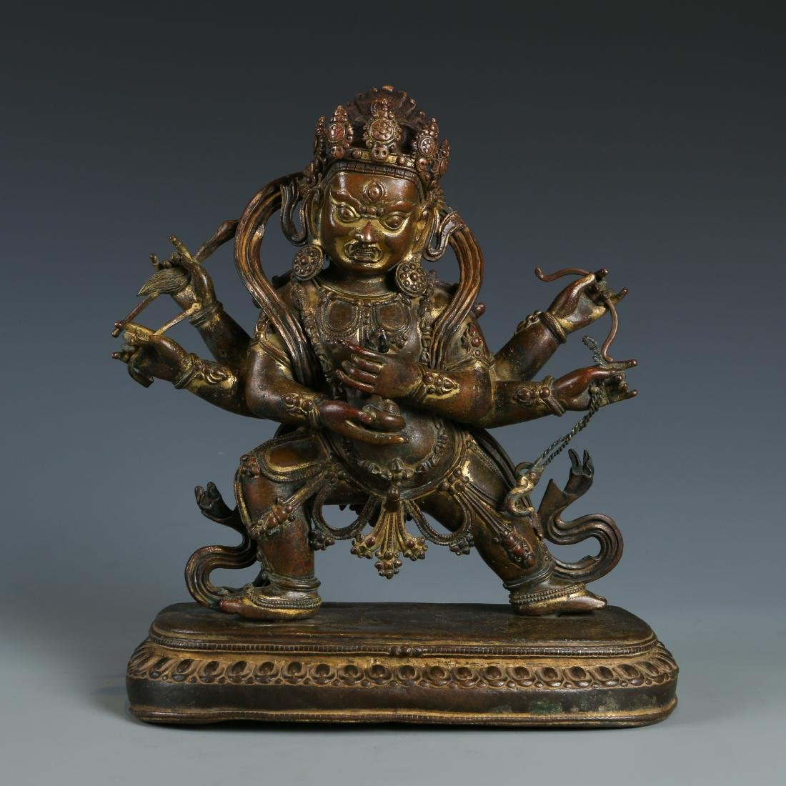 Bronze Figure of Mahakala