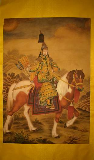 PAINTING OF THE EMPEROR LANGSHINING