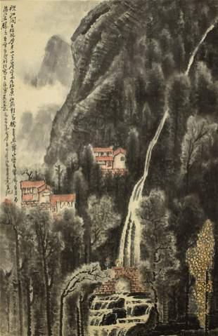 CHINESE PAINTING OF LANDSCAPE LI KERAN
