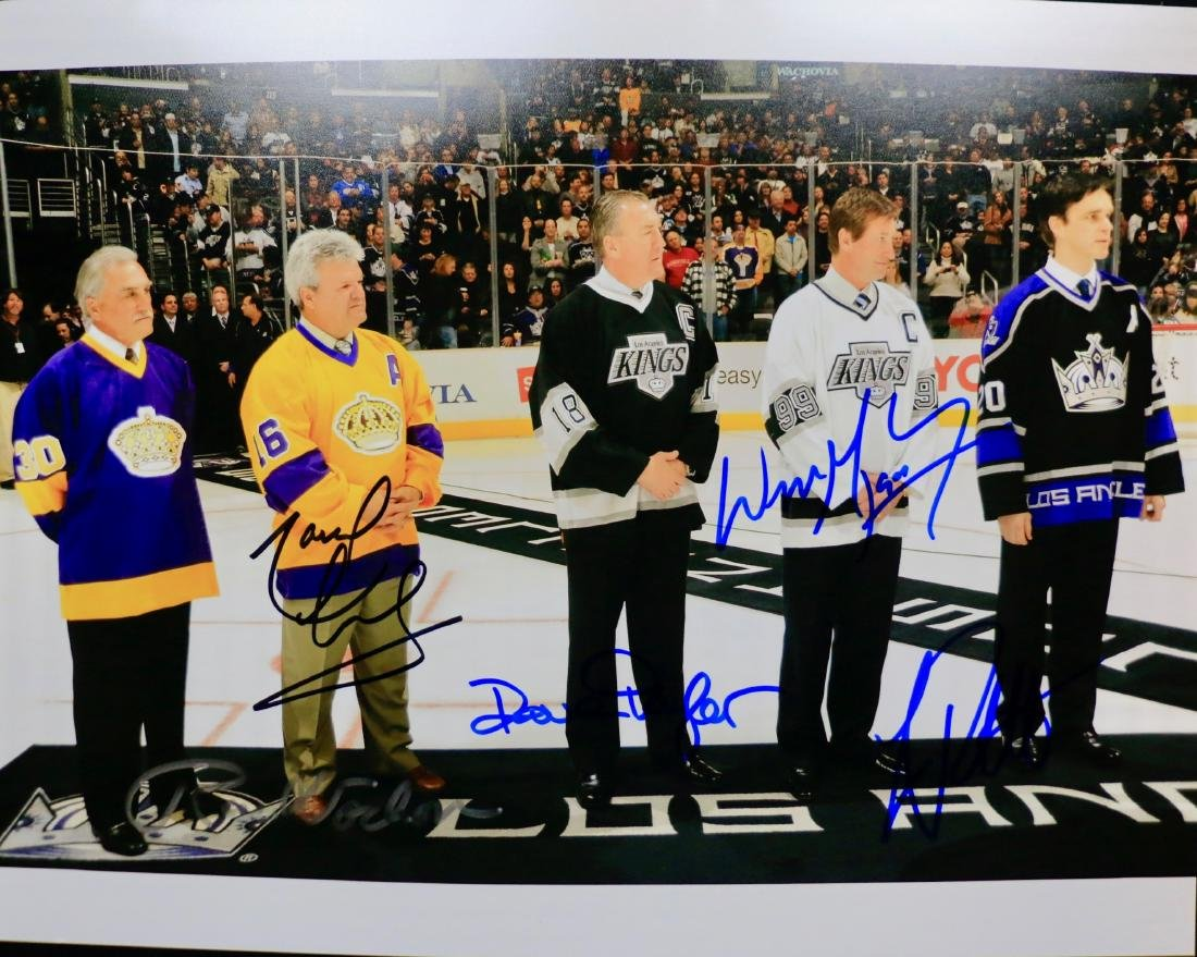 LOS ANGELES KINGS HALL OF FAMERS