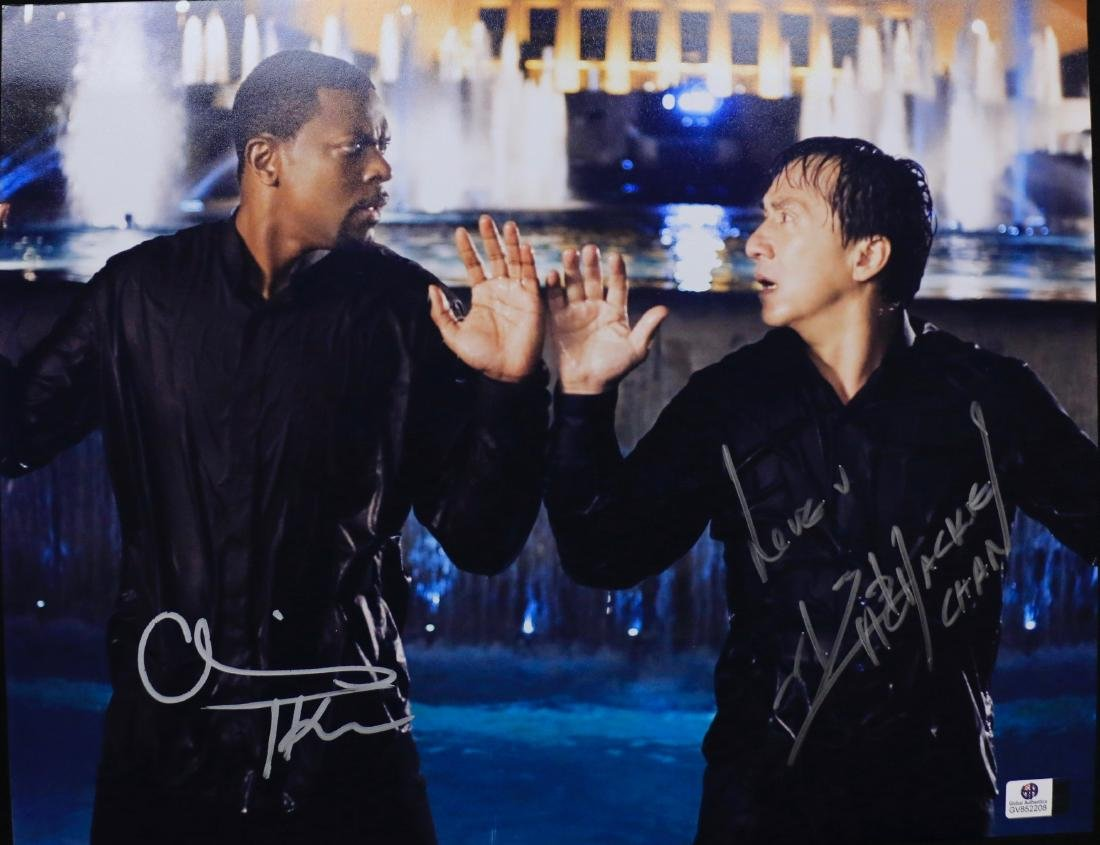 CHRIS TUCKER & CHACKIE CHAN