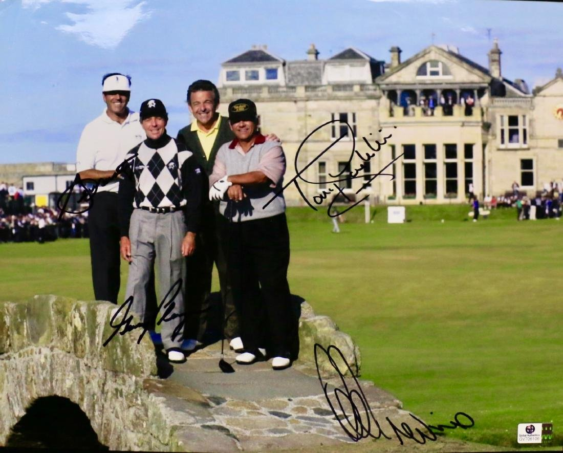 BALLESTEROS, JACKLIN, PLAYER & TREVINO