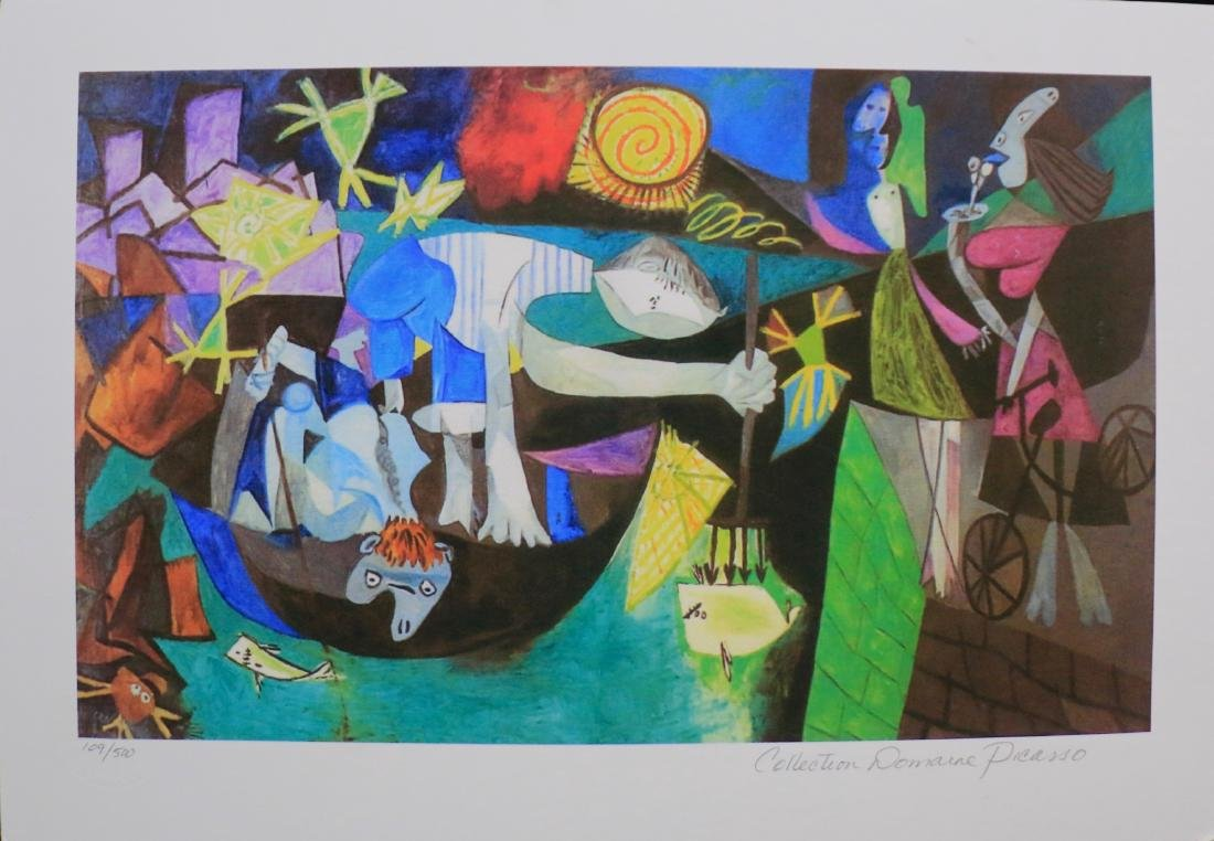 GICLEE FROM PABLO PICASSO ESTATE