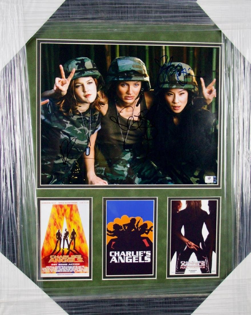 Charlie's Angels signed Photo