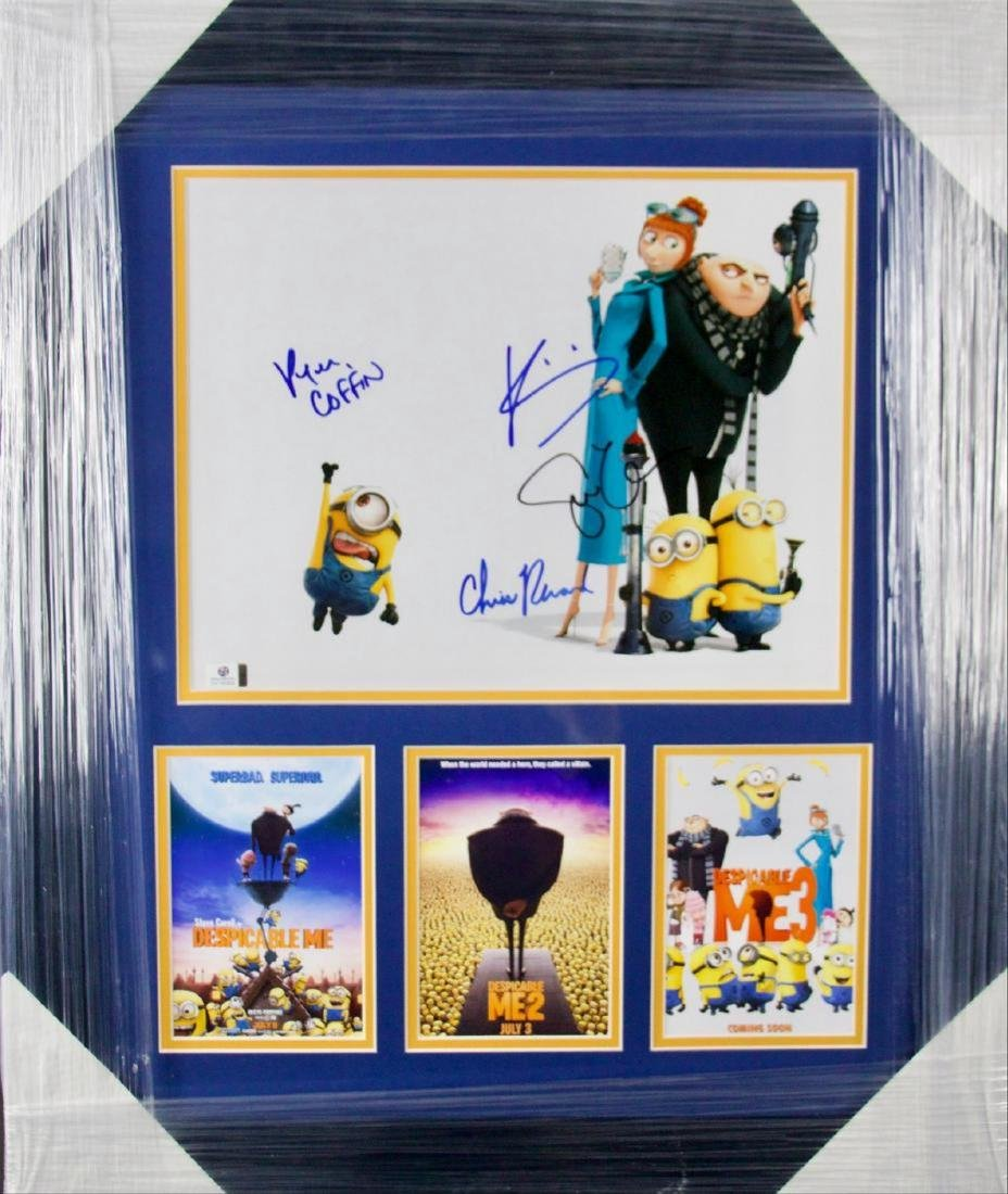 Despicable Me Edition Signed