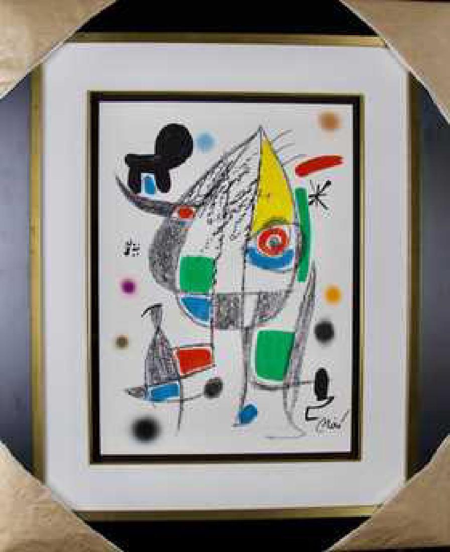 Joan Miro Original Lithograph
