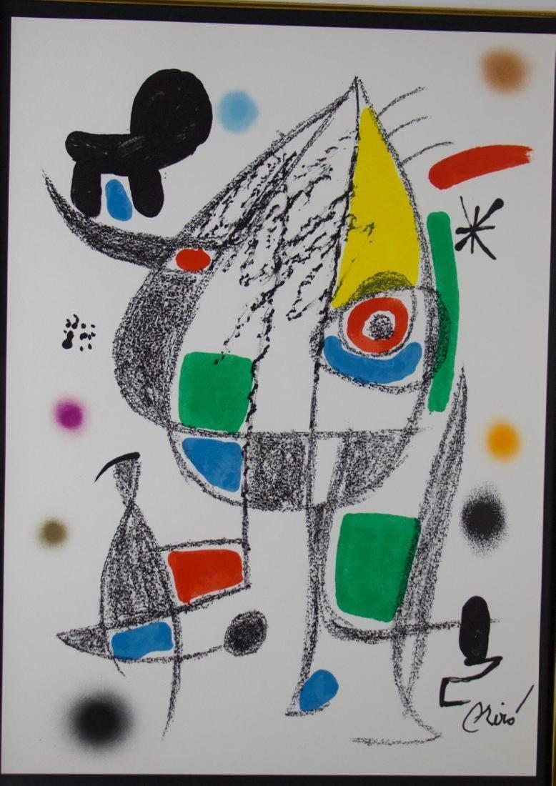 Joan Miro Original Lithograph - 3