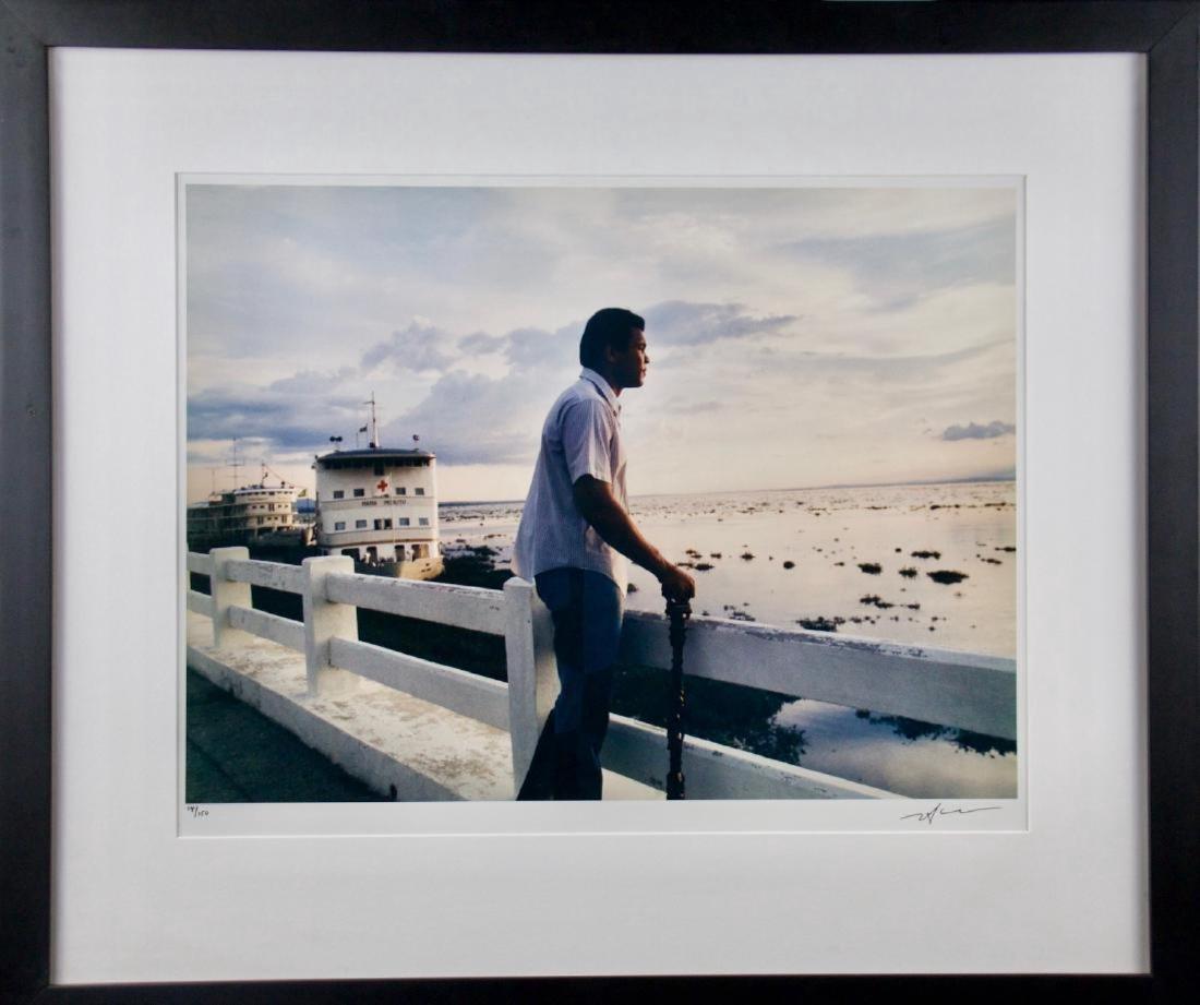 Neil Leifer- Ali by the River Zaire