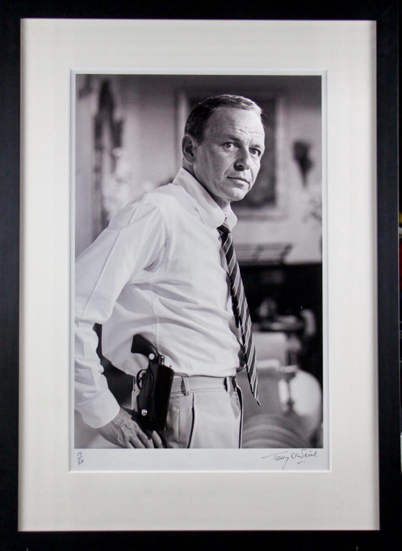Terry O'Neill- Sinatra with Gun
