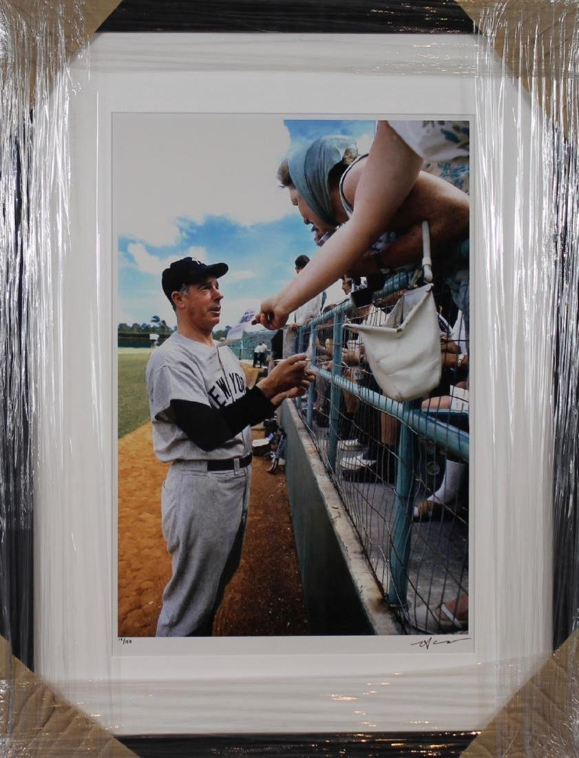 Neil Leifer- Joe Dimaggio Spring Training