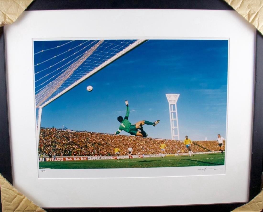 Neil Leifer- Brazil vs Austria
