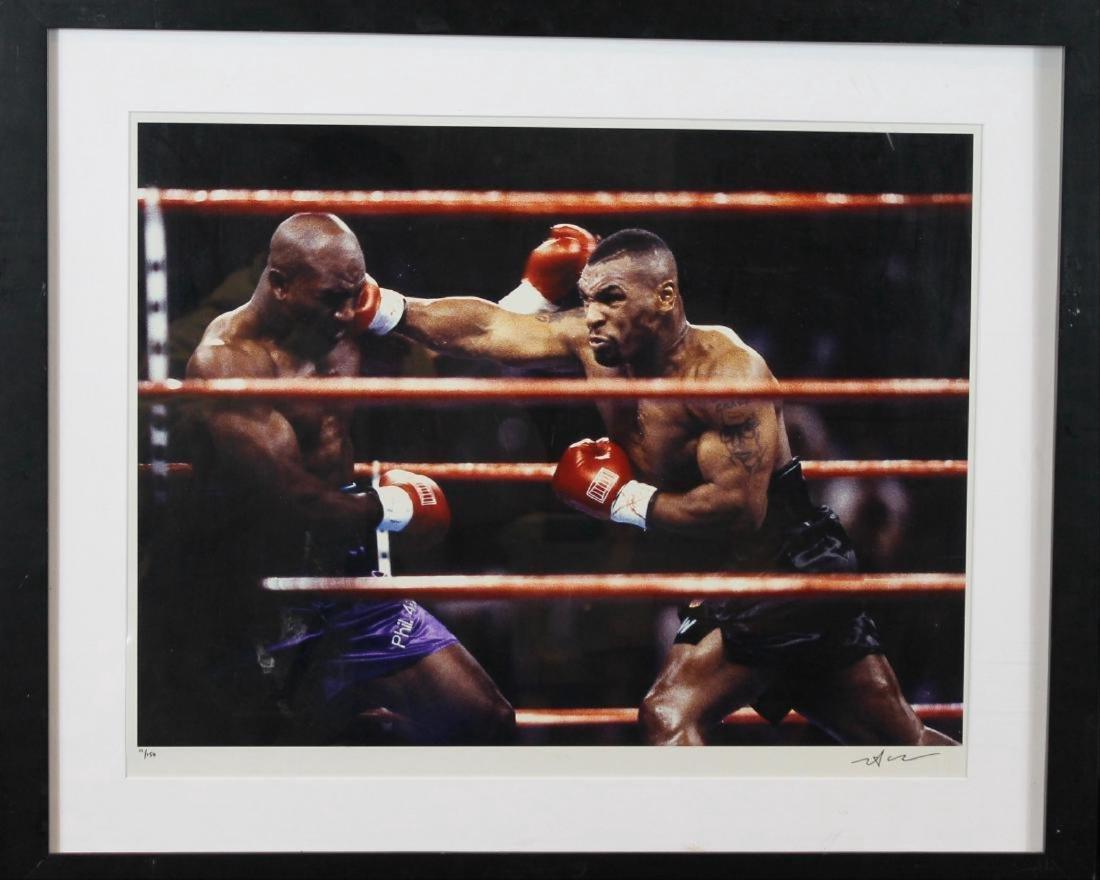 Neil Leifer- Evander Holyfield vs Mike Tyson