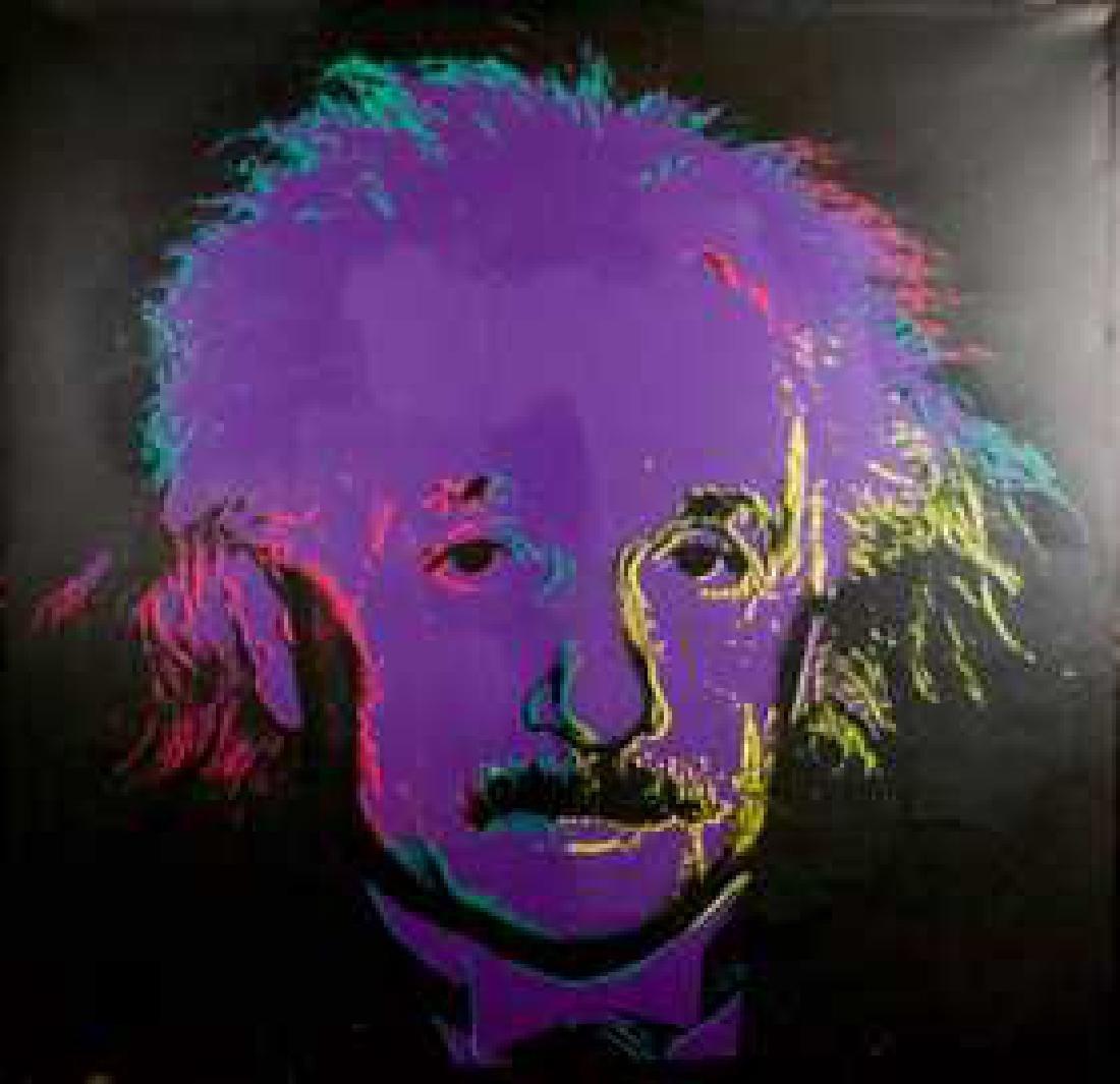 Steve Kaufman - Albert Einstein