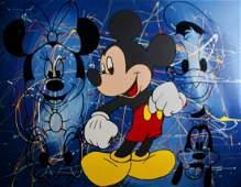 Steve Kaufman - Mickey Mouse & Friends