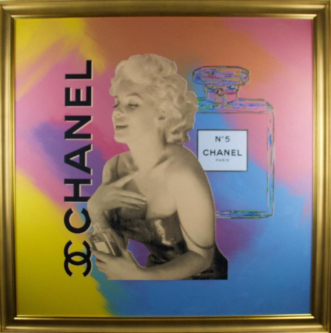 Steve Kaufman - Marilyn Chanel