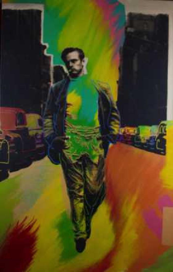 Steve Kaufman - James Dean