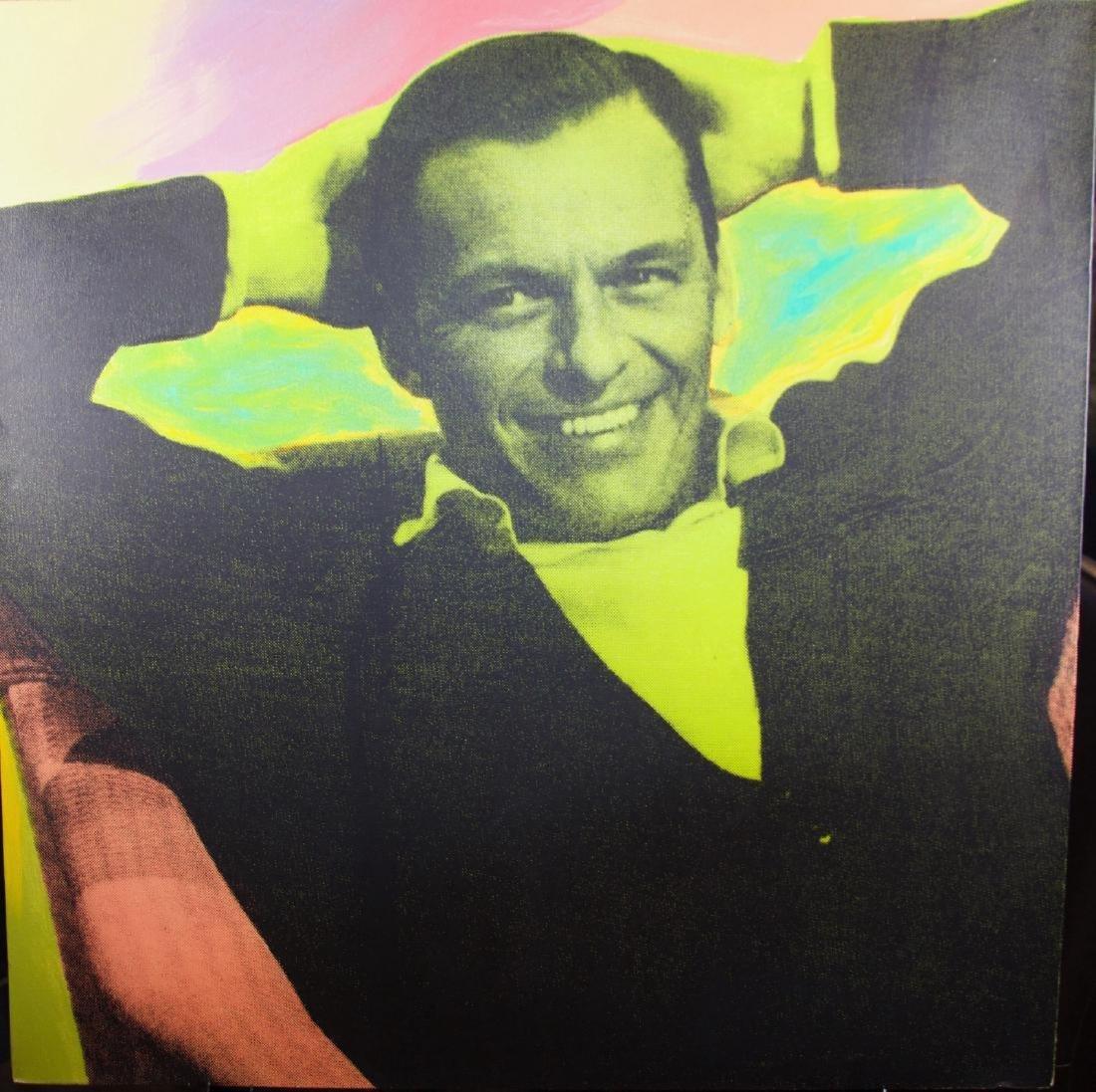 Steve Kaufman - Frank Sinatra