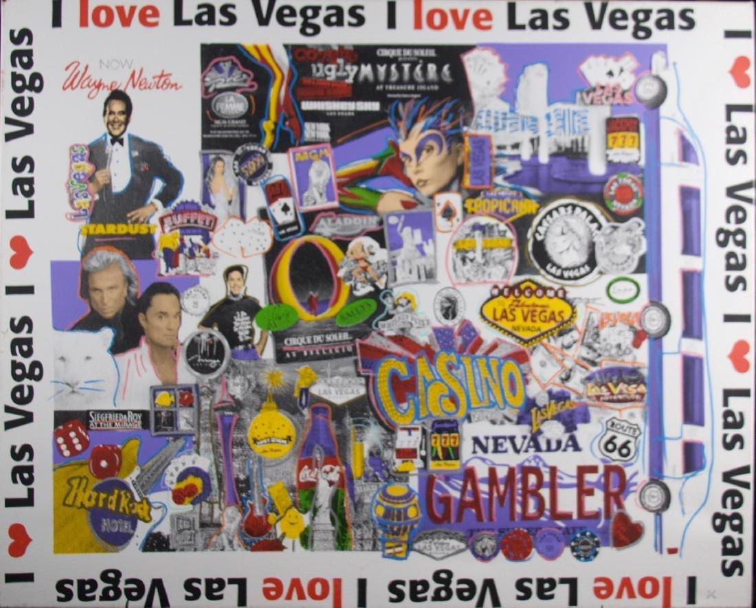Steve Kaufman - Las Vegas