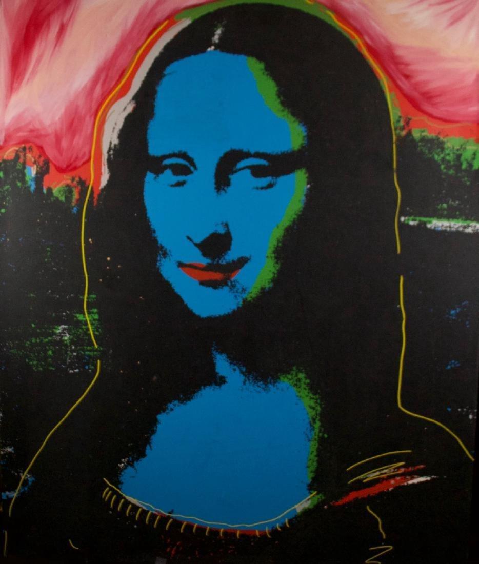 Steve Kaufman - Mona Lisa