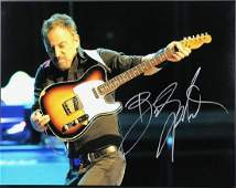 BRUCE SPRINGSTEEN SIGNED PHOTO