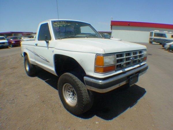 1005: 1992 Ford Truck Ranger-2-R White Vin#1FCR1OA4NUB3