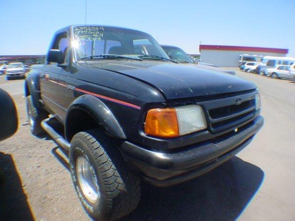 1012: 1994 Ford Ranger Black RPA40544