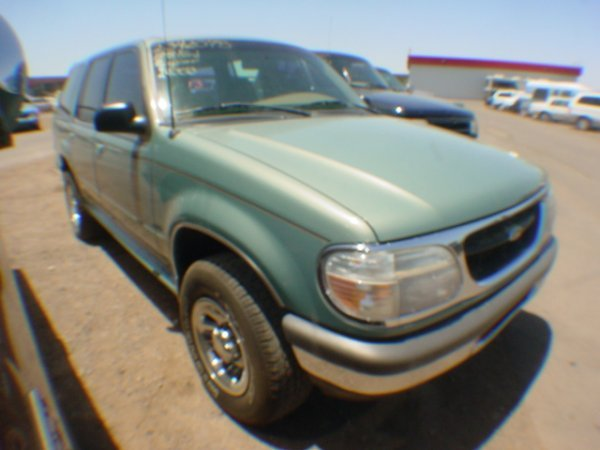 1013: 1998 Ford Explorer Green  WZA90513