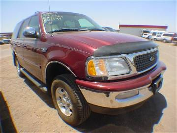 1014: 1998 Ford Expedition Red WLA58494