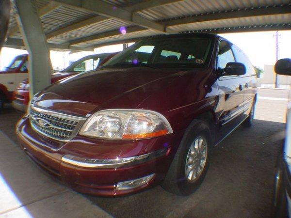3001: 2000 Ford Windstar SLE miles 93433 Vin # 2FMDA534
