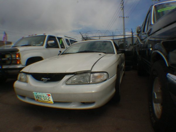 3014: 1997 Ford Mustang LX miles Vin#1FALP45X7VF179041