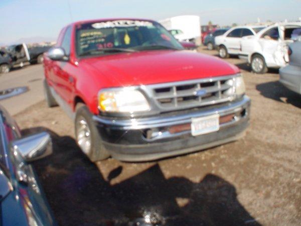 4004: 1997 Ford F150 Vin# 1FTDX1761VKB38509