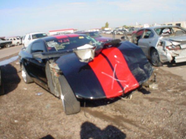 4007: 2005 Ford Mustang Vin# 1ZVHT82H955127610