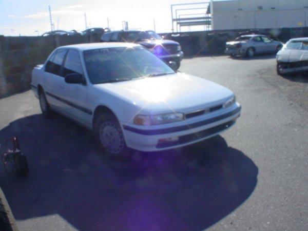 4020: 1990 Honda Accord Vin# JHMCB7658LC067420