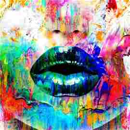 Too Much Talk III | Gold Edition | Fine Art