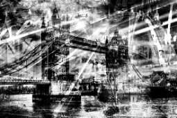 London Shadows | Gold Edition | Fine Art