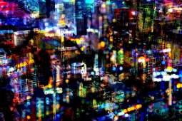 Bright Lights Big City | Platinum Edition | Fine Art