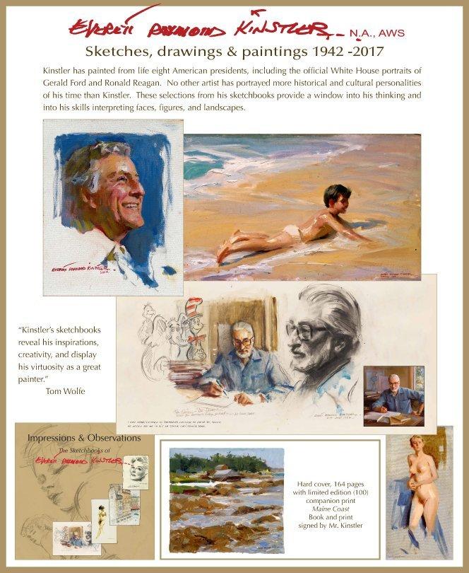 """Impressions and Observations"" Everett Raymond Kinstler"