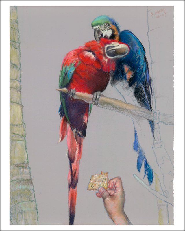 """Polly's Cracker""  Sigmund Abeles"