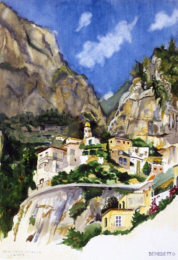 """""""Positano, Italy""""  Tony Bennett"""