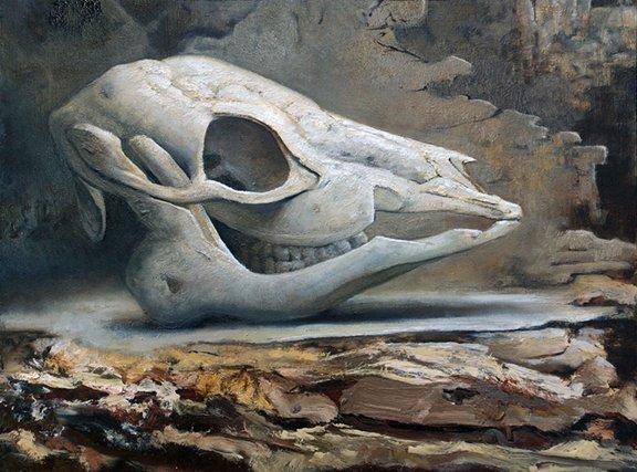 """""""Deer Skull"""" by Maggie Rose"""