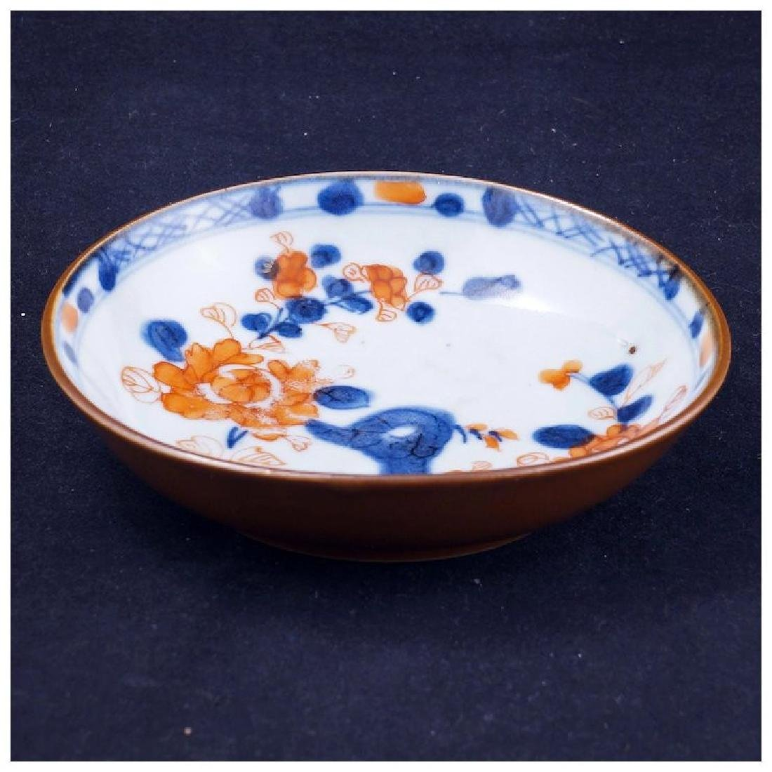 Kangxi period Chinese Imari porcelain saucer circa - 2