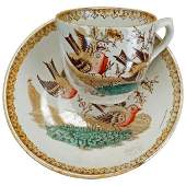 Victorian Aesthetic Movement child's polychrome