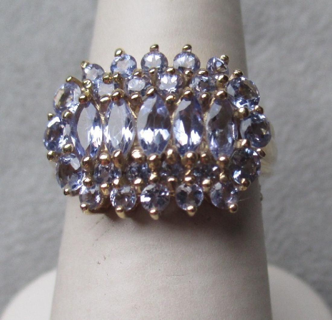 Gorgeous 14k Gold and Tanzanite Ring