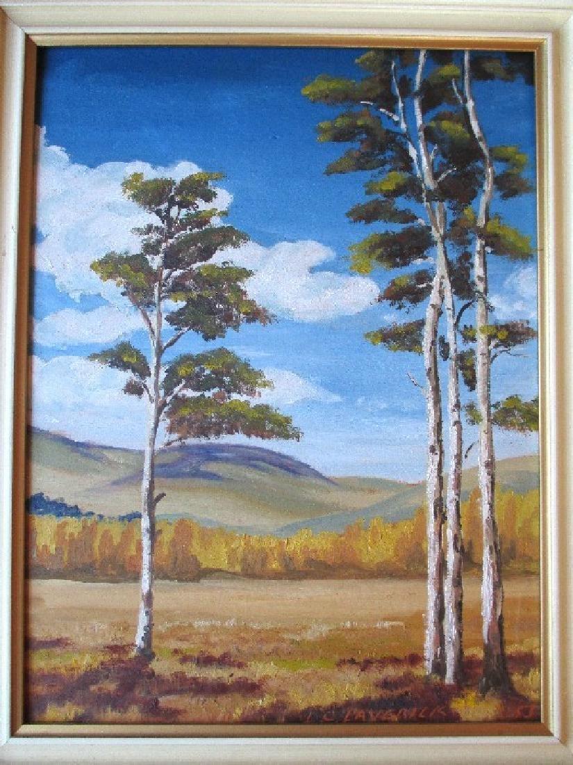 Fabulous Original Landscape Oil Painting - Lloyd