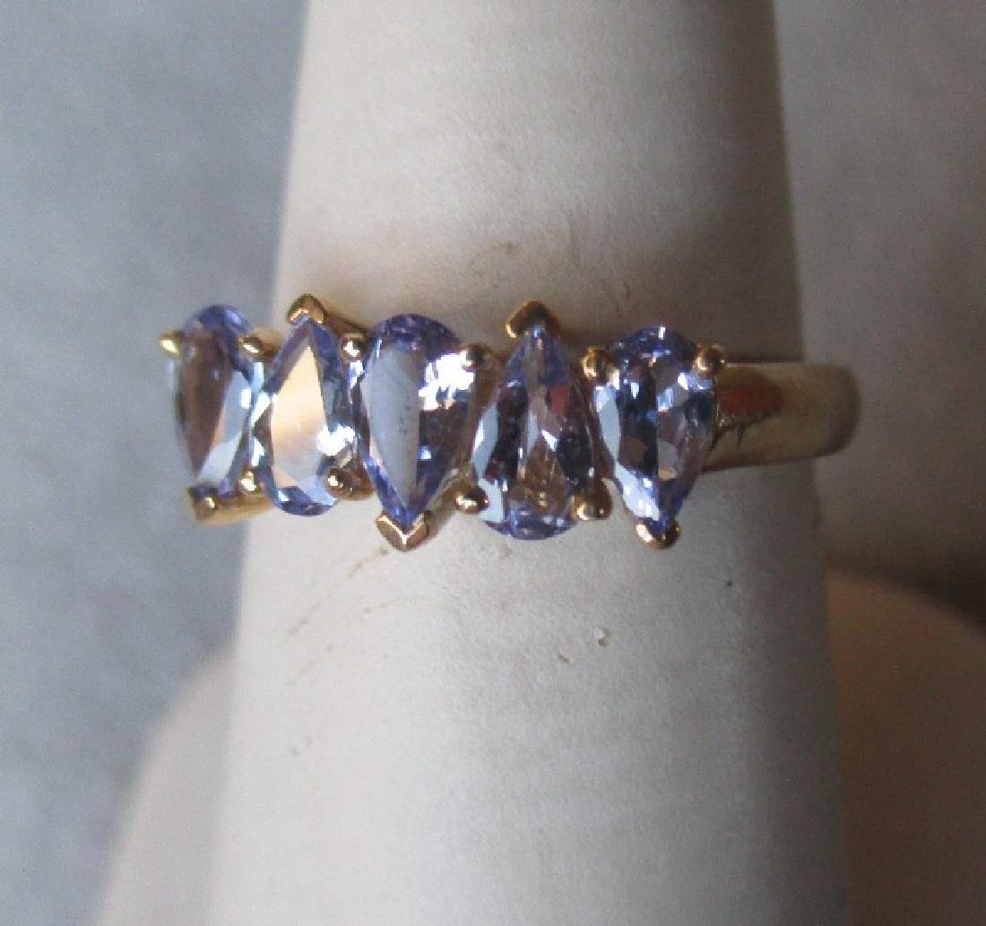 10k Gold and Tanzanite Ring