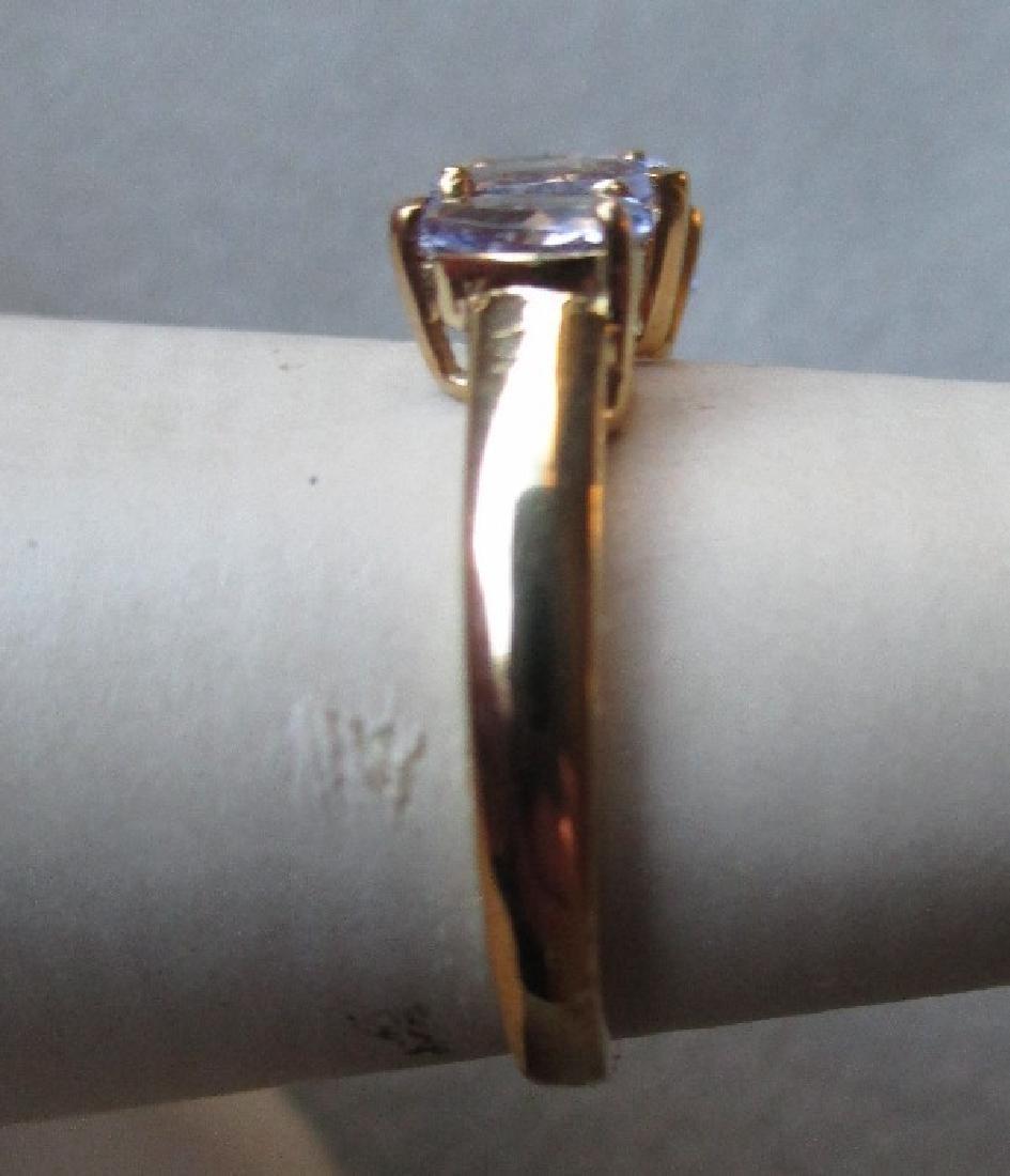 10k Gold and Tanzanite Ring - 2